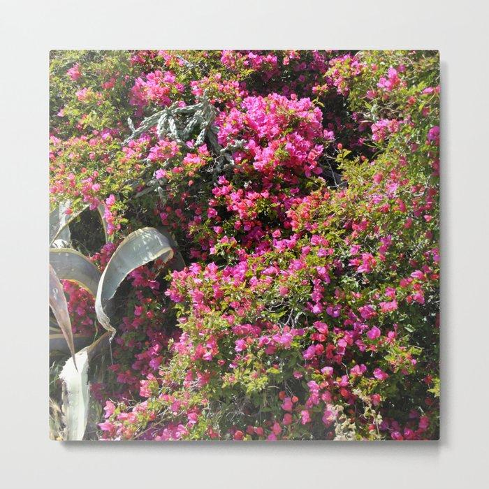 Spring Wild Flowers | Greece #society6 Metal Print
