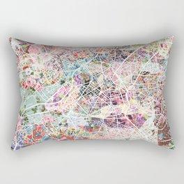 Lille map Rectangular Pillow