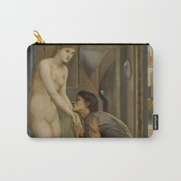 """Edward Burne-Jones """"Pygmalion and Galatea IV: The Soul Attains"""" Carry-All Pouch"""