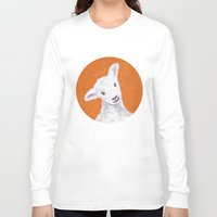 sheep Long Sleeve T-shirts featuring Sheep by KeithKarloff