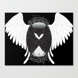 Eternity Concepts Logo (Black Background) Canvas Print