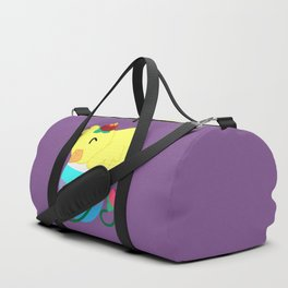 Spring Chicken - Hugging An Egg Duffle Bag