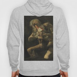 Saturn Devouring His Son - Goya Hoody