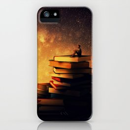 midnight tale iPhone Case