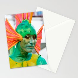 fish man Stationery Cards
