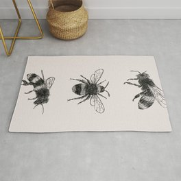 Three Bees Rug