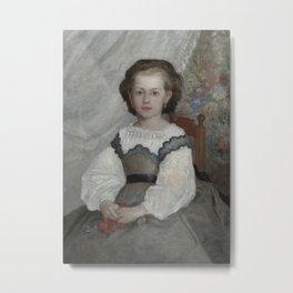 Mademoiselle Romaine Lascaux Metal Print