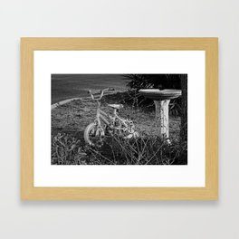 Abandoned Childhood Framed Art Print