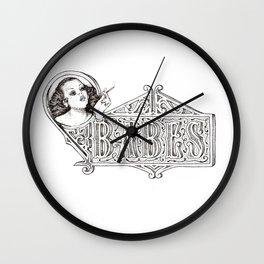 Babes Wall Clock