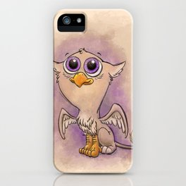 Baby Gryphon! iPhone Case