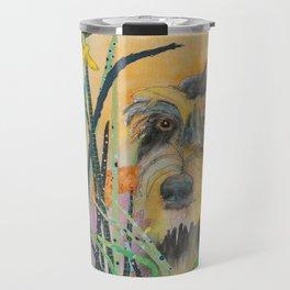 Tall Grass Terrier Travel Mug
