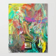 Trot:errel Canvas Print
