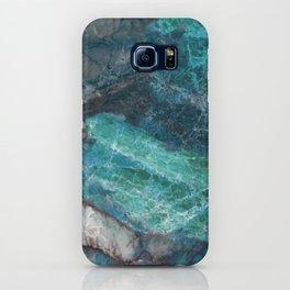 Cerulean Blue Marble iPhone Case