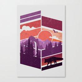 Vanishing Points Canvas Print