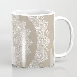 Baja Dunes Mandala Lace Bohemian Décor Coffee Mug