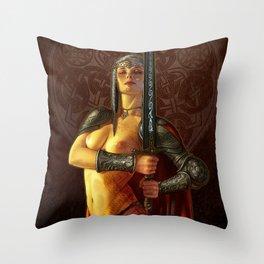 Espada Throw Pillow