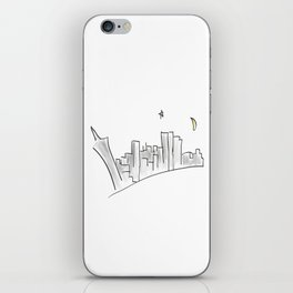 Far Away From The Neon Sky iPhone Skin
