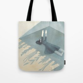 A game of shadows Tote Bag