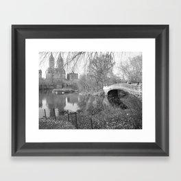 Scenic Bow Bridge Framed Art Print