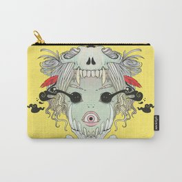 VooDoo Skull Witch, Gothic Artwork Carry-All Pouch