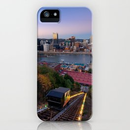 View from the Monongahela Incline iPhone Case