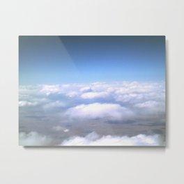 Horizontal Clouds Metal Print