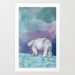 North Pole Art Print