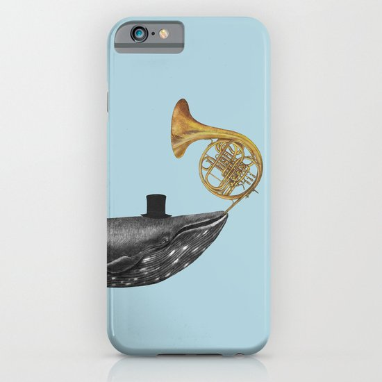 Whale Song - colour option iPhone & iPod Case