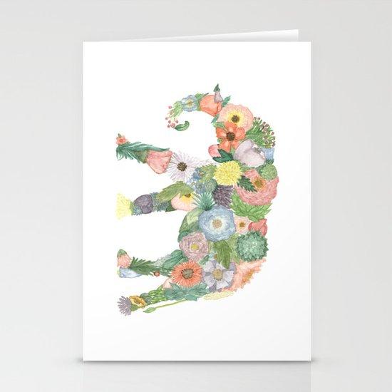 Elephlower Stationery Cards