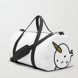 BIG GOLD BUDDY NARWHAL Duffle Bag