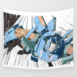 Skids Wall Tapestry