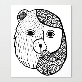 Werebear Canvas Print