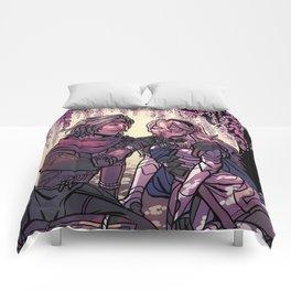 ninja boyfriend Comforters
