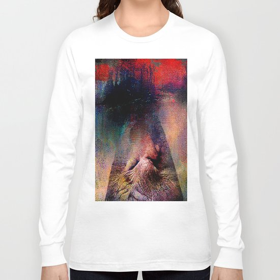 And God created Adam  Long Sleeve T-shirt