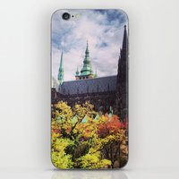 prague iPhone & iPod Skins featuring Prague by Lucie Démon