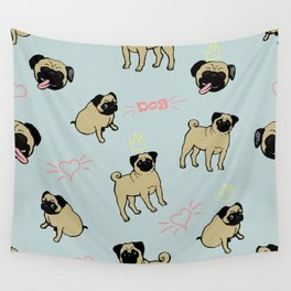 Dogs pattern Wall Tapestry