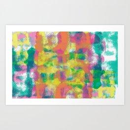 colur block Art Print