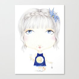 Moon Kiss Canvas Print