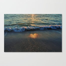 Yes, the Ocean Knows Canvas Print
