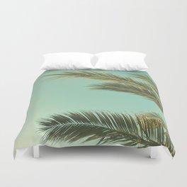 Autumn Palms II Duvet Cover
