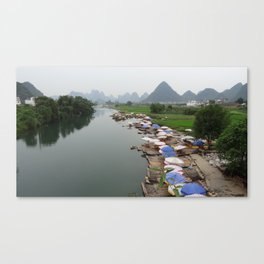 China Stories #6: Yangshuo Canvas Print