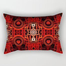 Tribal Batik Rectangular Pillow