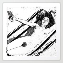 asc 489 - Le bonheur sans fin (Eternal bliss) Art Print