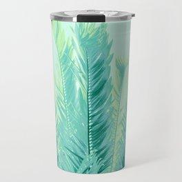 Tropical Leaves Dream #1 #tropical #decor #art #society6 Travel Mug