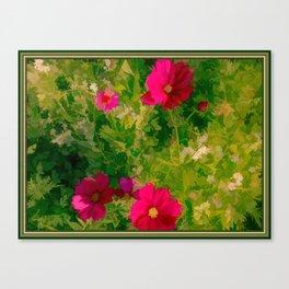 Floral Meanderings Canvas Print
