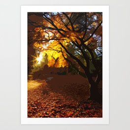 Morning Star Art Print