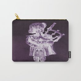 PURPLE PIPER Carry-All Pouch