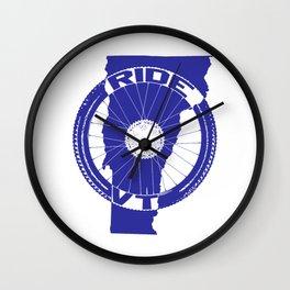 Ride Vermont Wall Clock