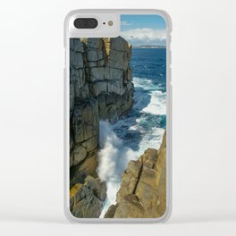 The Gap, Torndirrup and West Cape Howe National Parks, Albany, Western Australia Clear iPhone Case