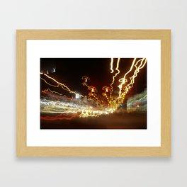 warp. Framed Art Print
